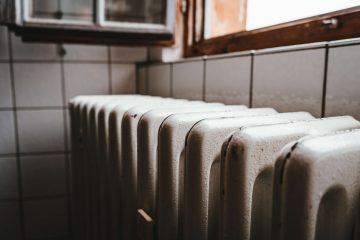 radiator viewed from angle